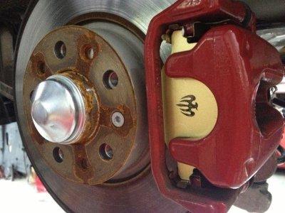 画像1: Bre'c TEZZO BRAKE system   アルファ156Sportwagon《15.12.23更新》