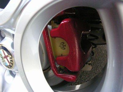 画像2: Bre'c TEZZO BRAKE system   アルファ156Sportwagon《15.12.23更新》