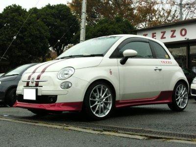 画像2: 【生産終了】TEZZOフロントリップスポイラー for Fiat500 Series《14.01.11更新》