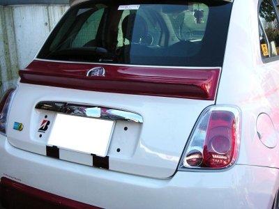 画像1: 【受注生産】TEZZOダックテールスポイラー for Fiat500 Series《15.03.19更新》