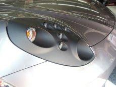 画像1: 【開発一時中止】TEZZO カーボンヘッドライトカバー for アルファロメオ 4C (1)