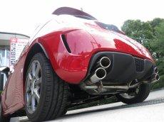 画像2: 【開発検討中】【競技用】TEZZOサーキットサウンドマフラー forアバルト500/500C (2)