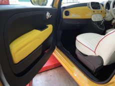 画像3: TEZZO STYLE ドアトリム中央部分(左右セット)for FIAT500《2014.10.26更新》 (3)