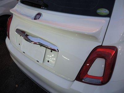 画像3: 【受注生産】TEZZOダックテールスポイラー for Fiat500 Series《15.03.19更新》