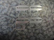 画像1: キャンバーシム2mm(4枚セット)for アルファロメオ4C (1)