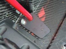 画像2: TEZZOアルファロメオ4C専用5点式シートベルト取付キット ver.2 (2)