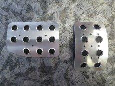 画像2: 【販売開始】TEZZOノンスリップアルミペダル2ペダル for アルピーヌA110(200322更新) (2)