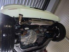 画像2: TEZZOプレミアムマフラーforルノートゥインゴMC後EDC(形式:3BA-AHH4B新規制車検対応) (2)