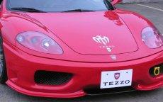 画像1: TEZZO ブレイドタイプ フロントスポイラー (for Ferrari360モデナ) (1)