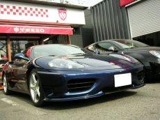 画像3: TEZZO ブレイドタイプ フロントスポイラー (for Ferrari360モデナ) (3)
