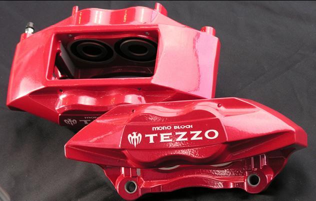 画像1: TEZZO モノブロックブレーキキャリパー (for アルファロメオ159/Brera/Spider) (1)