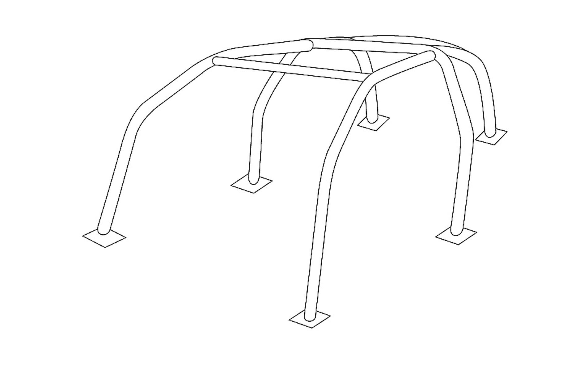 画像1: ロールケージ(for 156/156GTA/147/147GTA/GT2.0) (1)